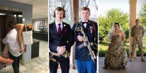15 свадебных фото, которые вызывают немало вопросов