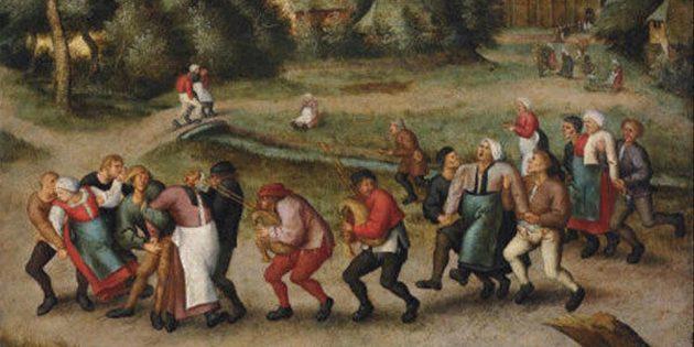 Безумные исторические факты: в Страсбурге в XVI веке 400человек внезапно стали танцевать и некоторые доплясались до смерти