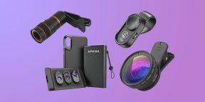 7 крутых объективов для смартфона, которые можно купить на AliExpress