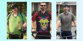 До и после: пользователи Сети показывают, как покупка велосипеда изменила их жизнь