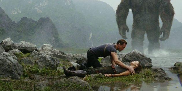 Кадр из фильма про джунгли «Конг: Остров черепа»