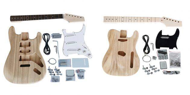 Электронные конструкторы с AliExpress: гитара