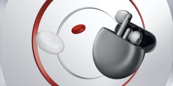Huawei показала беспроводные наушники FreeBuds 4 с активным шумоподавлением и автономностью 22 часа по цене AirPods 2
