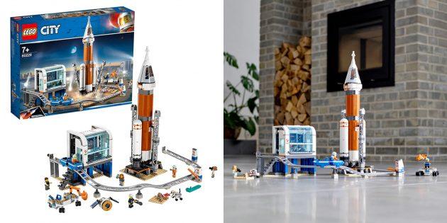 Lego City Космическая ракета и пункт управления запуском