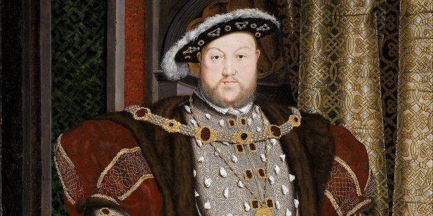 Безумные исторические факты: король Генрих VIII был побит констеблем и посажен в тюрьму за бродяжничество