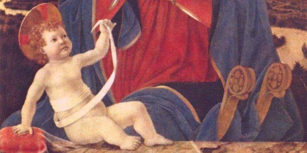 «Мадонна с младенцем», Алессио Бальдовинетти