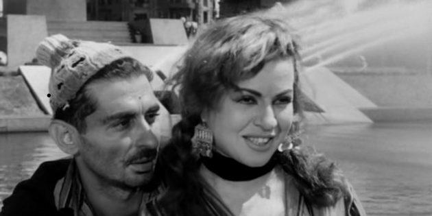 Кадр из фильма про Египет «Каирский вокзал»