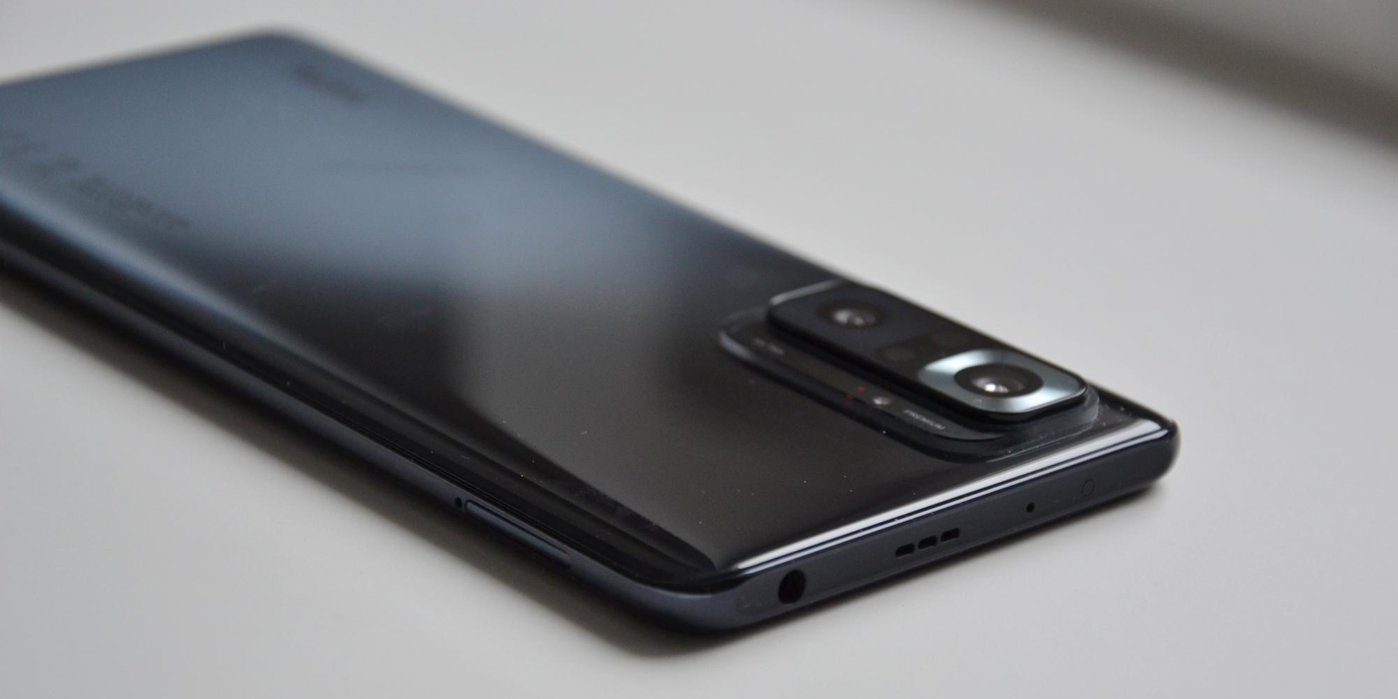 Xiaomi Redmi Note 10Pro: динамики
