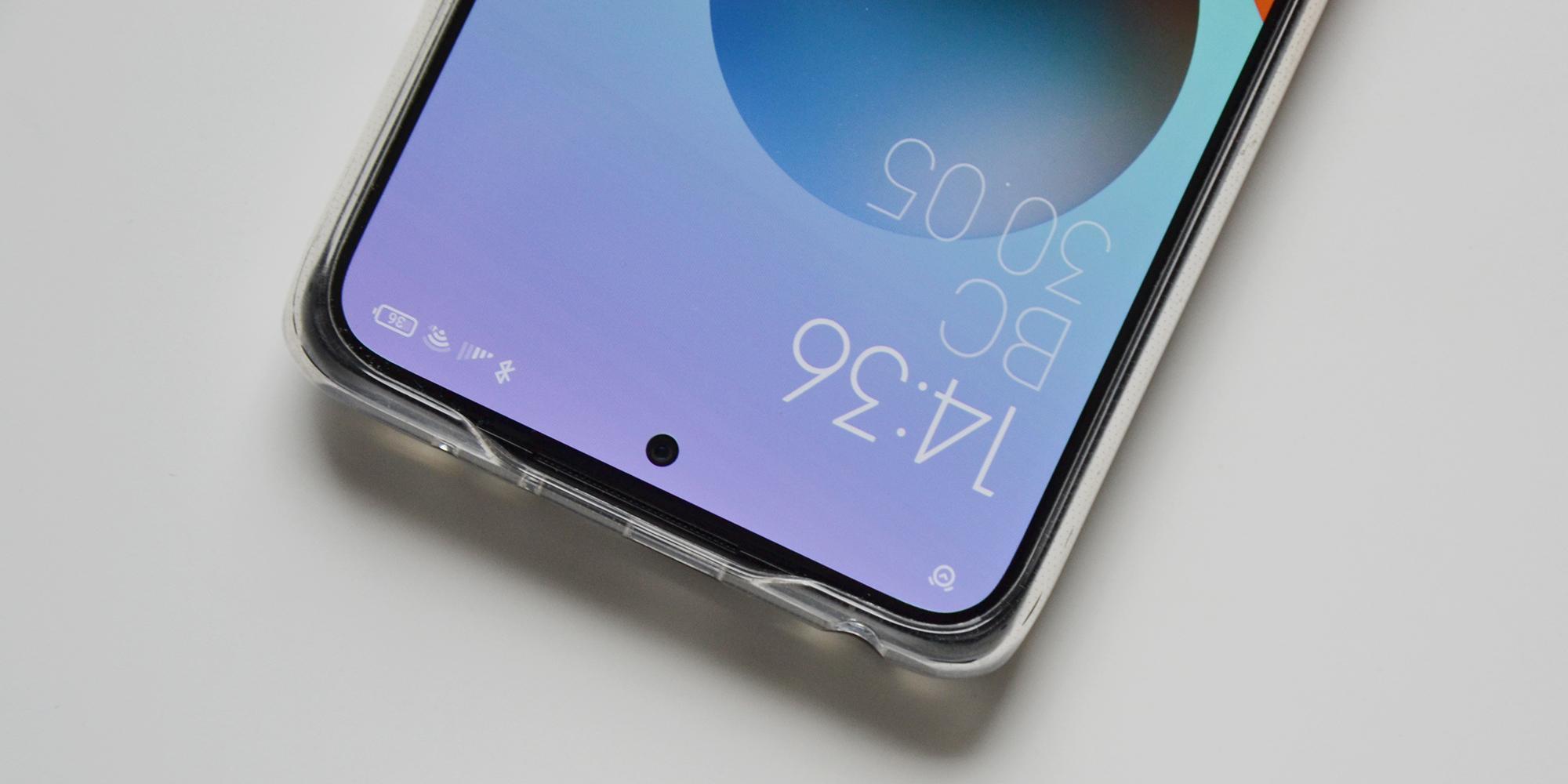 Xiaomi Redmi Note 10Pro: в комплекте идёт силиконовый чехол