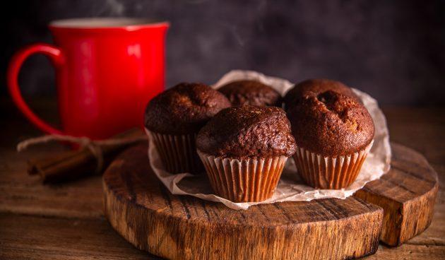 Шоколадные ПП-кексы из четырёх ингредиентов