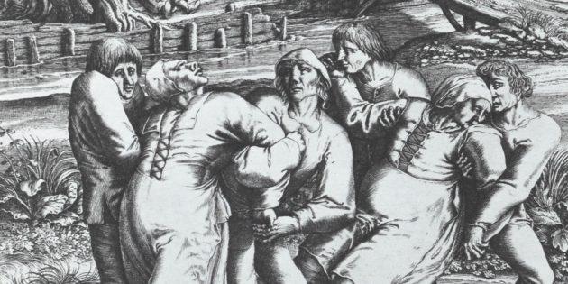 Безумные исторические факты: танцевальная чума