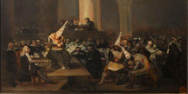 «Трибунал инквизиции», картина Франсиско Гойи