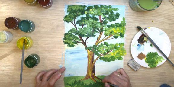 Как нарисовать дерево: 35 вариантов на любой вкус