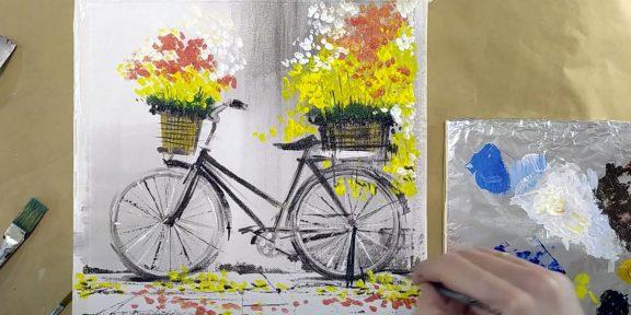 Как нарисовать велосипед: 19 несложных способов