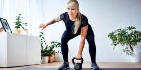Как выполнять рывок гири, чтобы похудеть, развить выносливость и укрепить мышцы