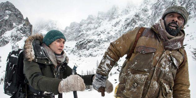 Кадр из фильма про альпинистов «Между нами горы»
