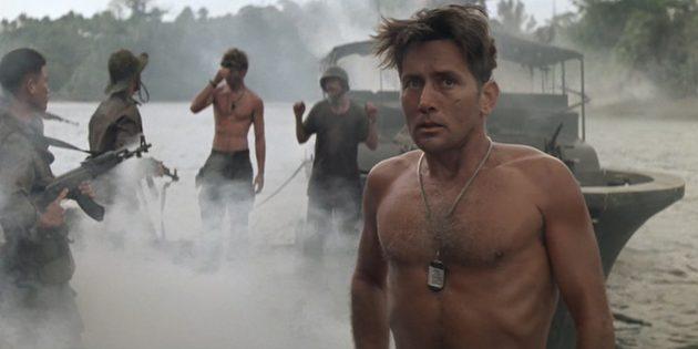 Кадр из фильма про джунгли «Апокалипсис сегодня»
