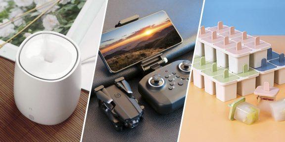 Находки AliExpress: умная розетка, увлажнитель воздуха, рубашка в клетку, новенький смартфон от OnePlus
