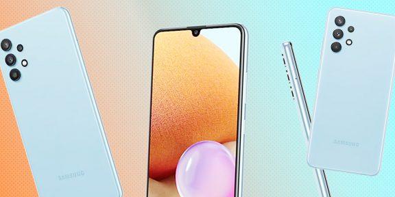 Обзор Samsung Galaxy A32 — красивого, но не выдающегося смартфона