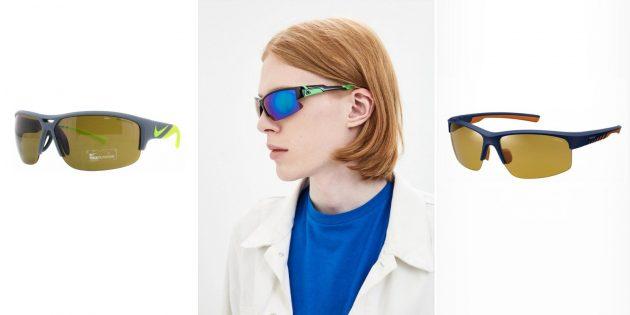 Мужские солнцезащитные очки в спортивном стиле