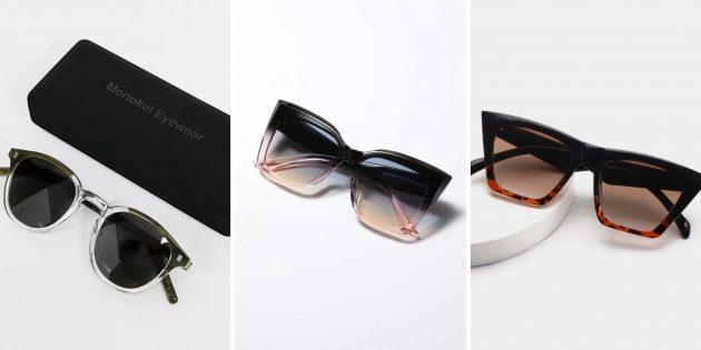 Модные женские солнцезащитные очки — 2021: очки с эффектом омбре
