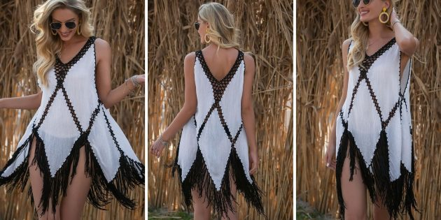 Пляжное платье — сарафан