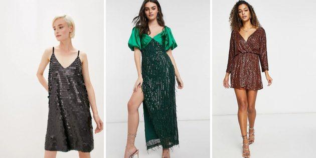 Модные платья лета-2021: модель в стиле диско