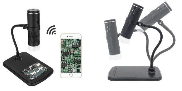 Товары, которые расширят функции вашего телефона: микроскоп