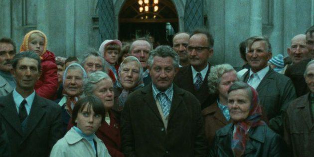 Кадр из фильма про концлагерь «Шоа»