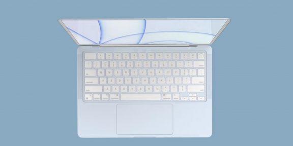 Apple готовит яркие MacBook Air в стиле новых iMac
