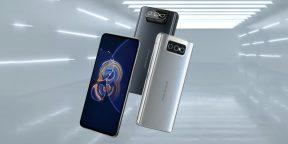 ASUS представила компактный флагман ZenFone 8 и ZenFone 8 Flip с поворотной камерой