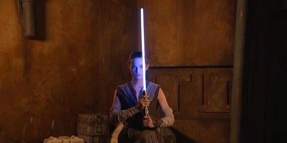 Disney продемонстрировала «настоящий» световой меч из «Звёздных войн»