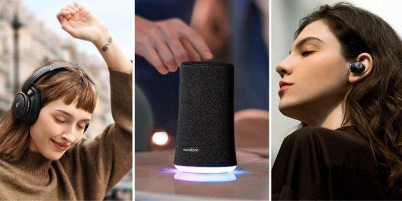 На AliExpress распродают наушники и Bluetooth-колонки Anker Soundcore