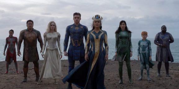 Marvel выпустила первый тизер-трейлер фильма «Вечные»