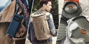 Всё для мужика: набор инструментов, внешний аккумулятор и кожаный рюкзак
