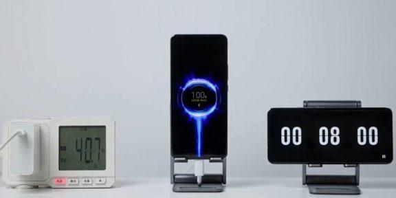 Xiaomi показала зарядку, которая полностью заряжает смартфон за 8 минут