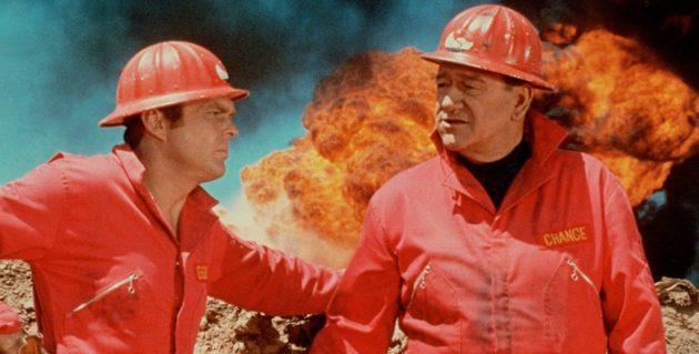 Кадр из фильма про пожары «Адские бойцы»