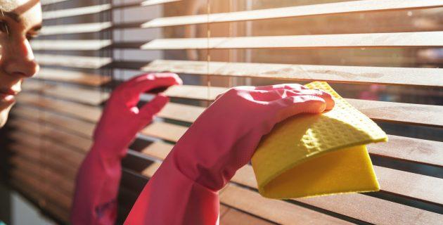 Как почистить жалюзи из дерева или других природных материалов