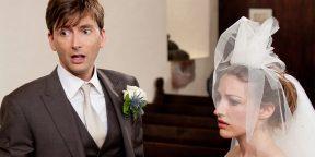 Сломанный кондиционер и мёртвые голуби: 8 ужасных свадебных историй