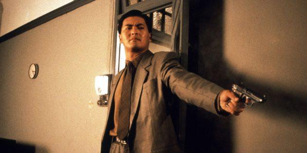 Кадр из фильма про киллеров «Наёмный убийца»