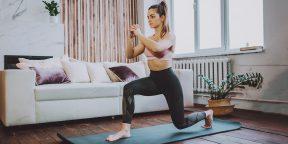 Как накачать ноги дома без железа