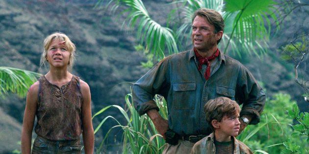 Кадр из фильма про джунгли «Парк Юрского периода»