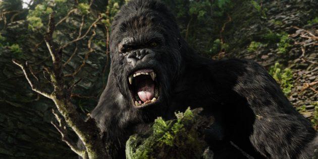 Кадр из фильма про джунгли «Кинг Конг»