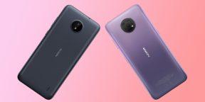 В России стартовали продажи бюджетных Nokia C20 и G10