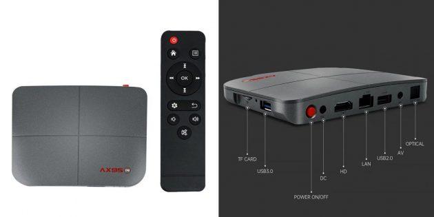 ТВ-приставка Vontar AX95