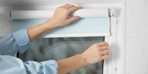 Как мыть и стирать рулонные шторы, чтобы их не испортить