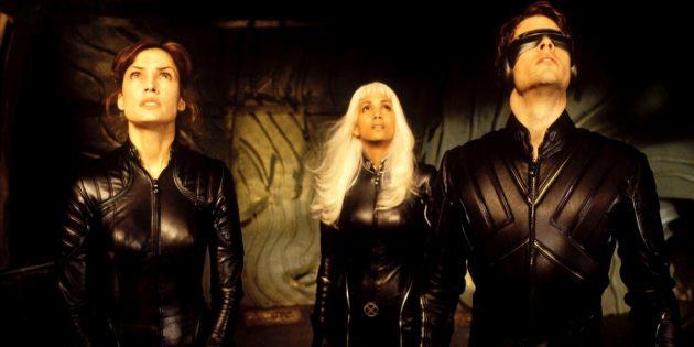 Кадр из фильма про мутантов «Люди Икс»