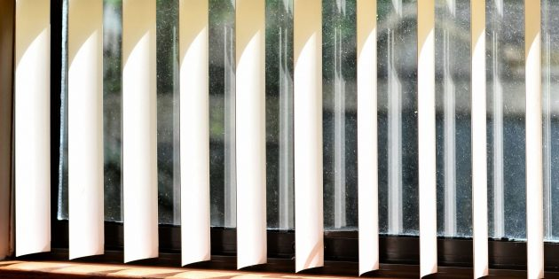 Как помыть вертикальные жалюзи из ткани