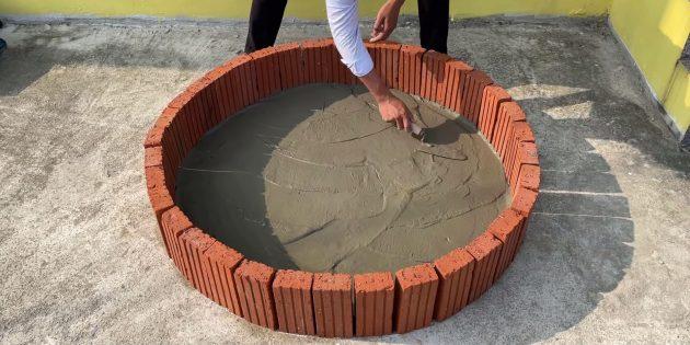 Как сделать фонтан своими руками: залейте раствор