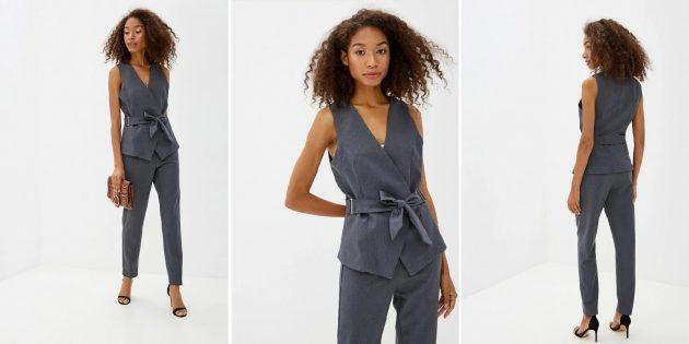 Одежда для торжественных случаев: платье с многоярусными оборками